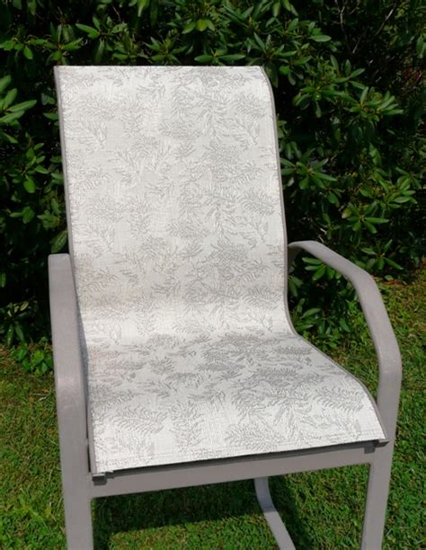 patio chair sling material modern patio outdoor