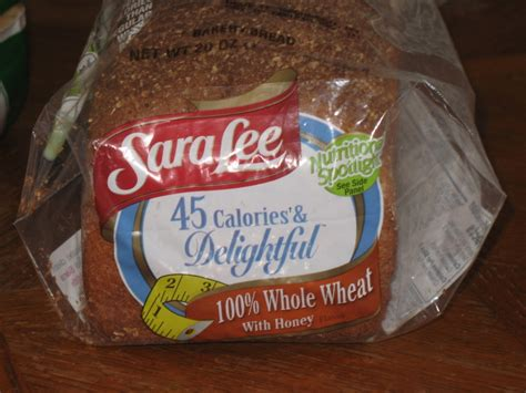 whole grain 100 calorie bread review 45 calories and delightful 100 whole