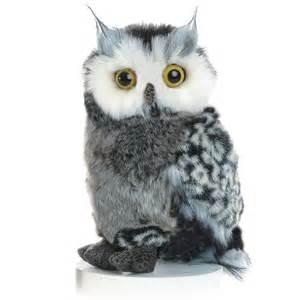 owl stuffed animal plush stuffed gray white barn owl plushie animal 9 quot new ebay