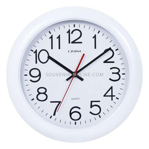 Jam Dinding Jam Promosi Event Jam Polos Bisa Logo jam dinding ring putih polos