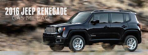 Jeep With Best Mpg Jeep Renegade Fuel Economy Estimates Autos Post