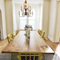 Diy Dining Room Table Diy Dining Table Home Crafts Pinterest