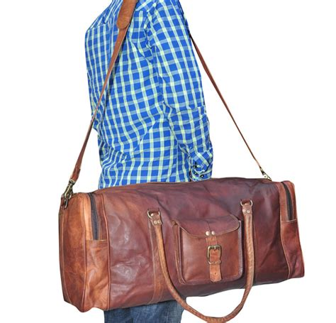Handmade Travel Bags - handmade travel luggage bag el