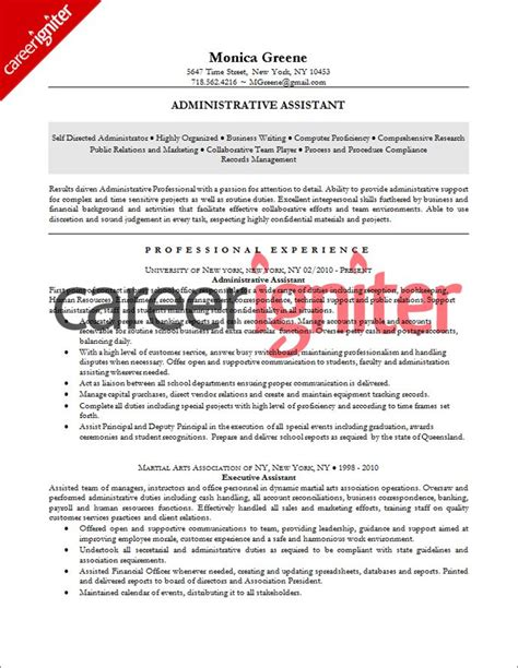 office assistant resume format best administrative assistant