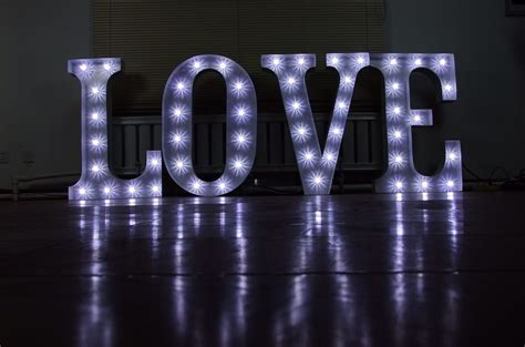 large light up letters for sale secondhand websites index page theming and decor large