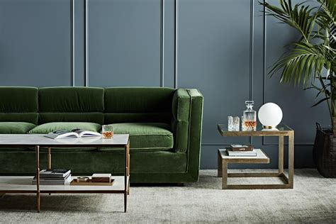 forest green couch colour crush green bibby and brady