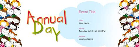 annual function invitation card template free annual function invitation with india s 1 tool