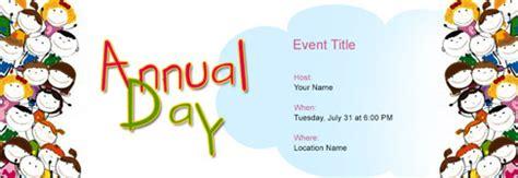 invitation design templates for annual function free annual function invitation with india s 1 online tool