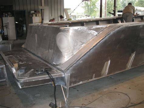 aluminum boat console 36ft aluminum center console build the hull truth