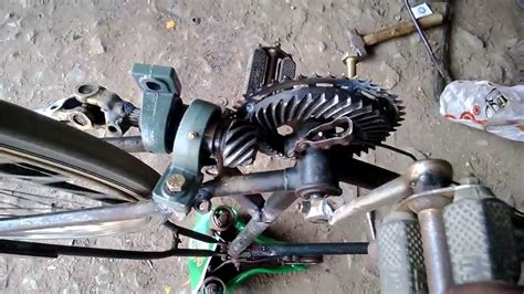 diy engineering projects chainless bicycle mechanical engineering project topics youtube