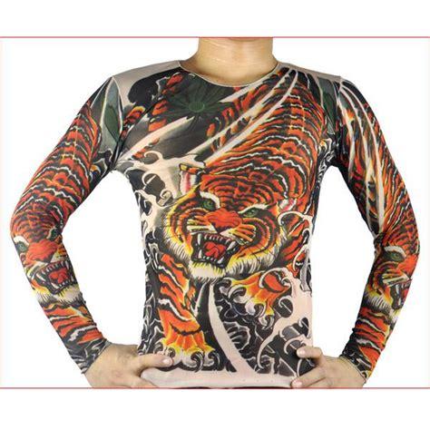 tattoo hoodies online tiger pattern tattoo long sleeve t shirt tattoo clothing