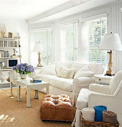 coastal living living rooms 10 ways to create coastal cottage style