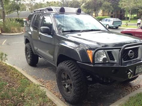 nissan xterra lifted for sale find used 2011 nissan xterra pro 4x 4x4 6 speed mt