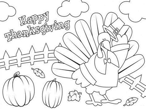 Thanksgiving Coloring Pages For Kindergarten Chuckbutt Com Kindergarten Thanksgiving Coloring Pages