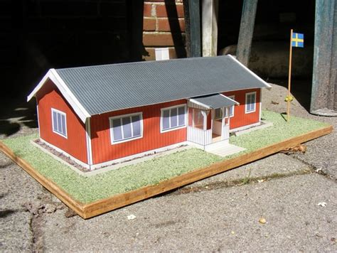 Zweeds Huis Bouwpakket by Bouwpakket Zweeds Huis Schuur Miniatuur Zwedenweb