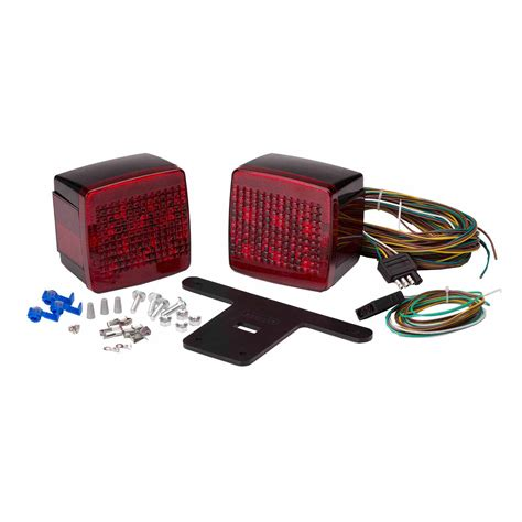 Led Trailer Light Kit by Attwood Led Standard Trailer Light Kit 022697140654 Ebay