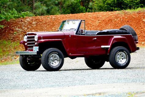 custom willys jeepster 1950 willys jeep jeepster 4x4 custom 383 chevy 700r4 373