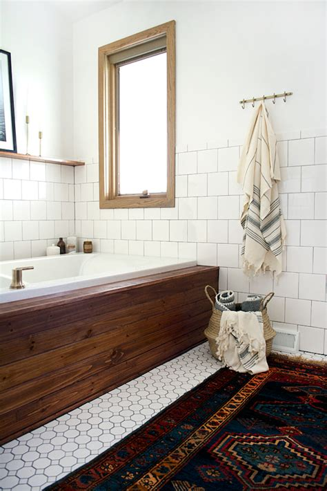 Vintage Modern Bathroom by Design Maze