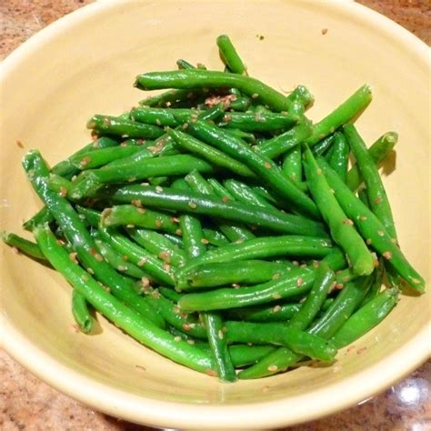 simple sesame green beans recipe by john cookeatshare