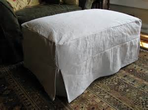 Slipcover For Ottoman You To See Ottoman Slipcover By Ms Elaineous