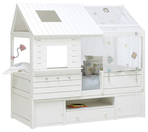 Low Sleeper Cabin Beds by White Silversparkle Low Sleeper Cabin Bed With Trundle