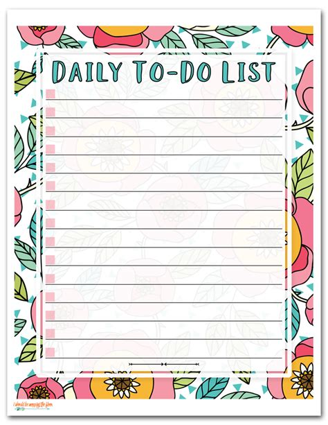 printable to do list com i should be mopping the floor free printable to do list