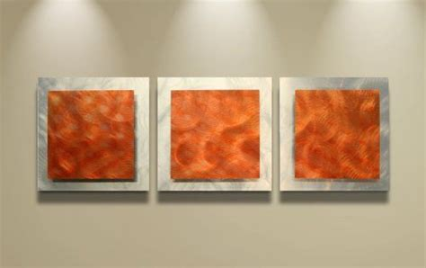 orange wall decor orange wall orange essence 38x12 in fiery
