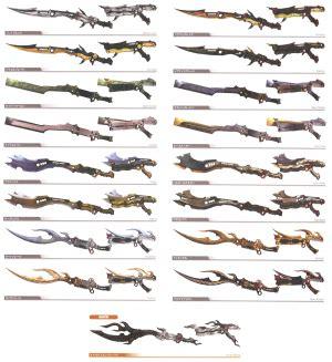 where to get light curtain ffx gunblades ffxiii final fantasy wiki neoseeker
