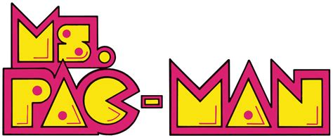 Ms. Pac Man logo (US) by RingoStarr39 on DeviantArt