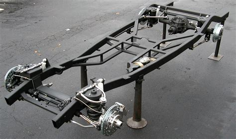 Auto Chassis by 1937 1940 Chevy Chassis Fabrication