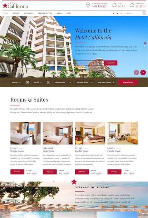themes wordpress hotel 20 best wordpress themes for hotels 2017 wildemuse com
