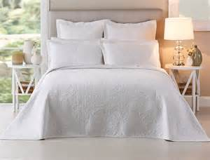 artemida white bedspread bed bath n table