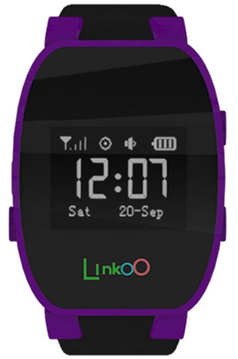 Montre connectée Linkoo MONTRE GPS POUR ENFANT VIOLET   LINKOO (4138767)   Darty