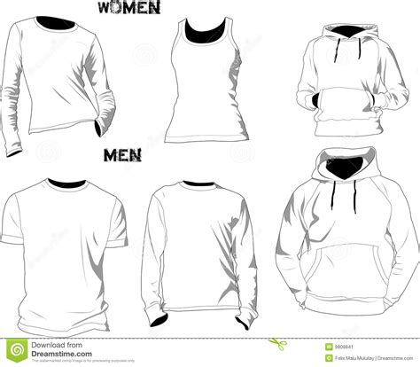 T Shirt Templates Stock Image Image 9809841 Fashion Design T Shirt Templates