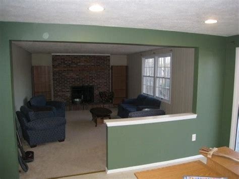 Half Wall Between Living Room And Den Best 25 Load Bearing Wall Ideas On