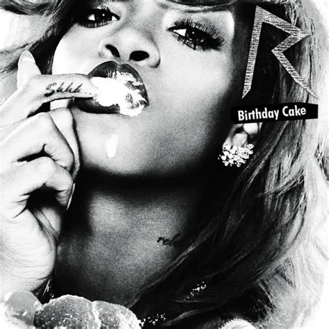 rihanna cake photo