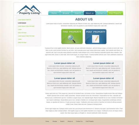 Real Estate Website Template Free Real Estate Web Templates Phpjabbers Opt In Website Templates