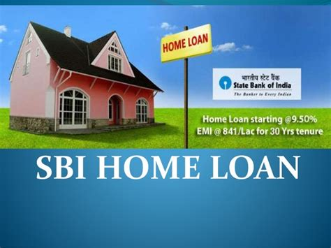 housing loan from sbi state bank of india home loan