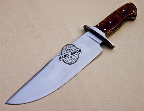 stainless steel bowie knife bowie knife custom handmade stainless steel bowie