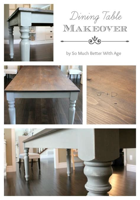 apartment dining table dining room table makeover so much better with age