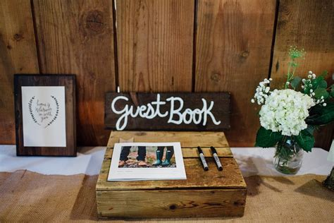 decorating wooden rustic wedding table decor ideas 96 rustic wedding guest book table book table
