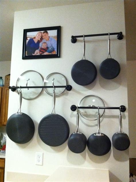 Racks To Hang Pots And Pans From In The Kitchen 25 best ideas about pan rack on pot rack hanging pot racks and hanging pans