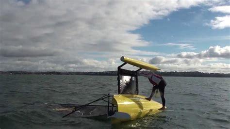 trimaran capsize movie how to right a weta trimaran after capsize doovi