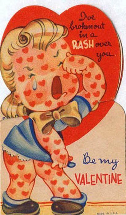 disturbing valentines day cards retail hell underground 20 disturbing vintage valentines