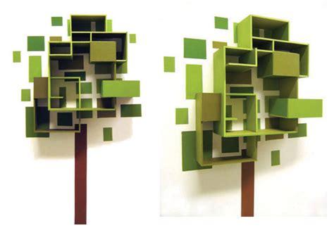 Paint Shelf by Tree Shelf Painting Lushlee