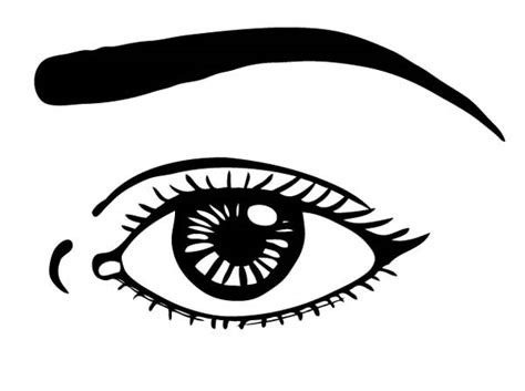 eye coloring page my blog