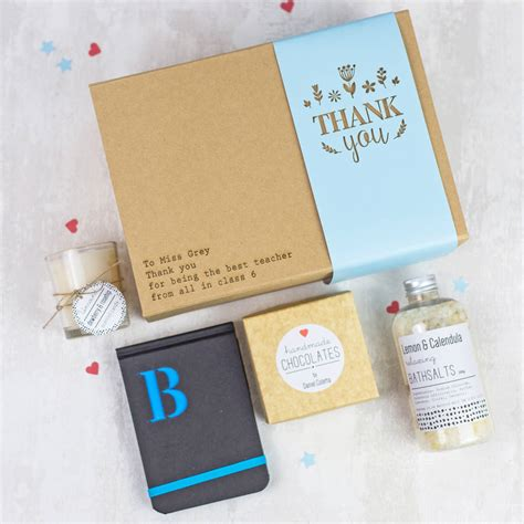 thank you gift box by fora creative notonthehighstreet com