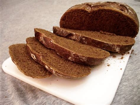 career in the oven dark german rye bread