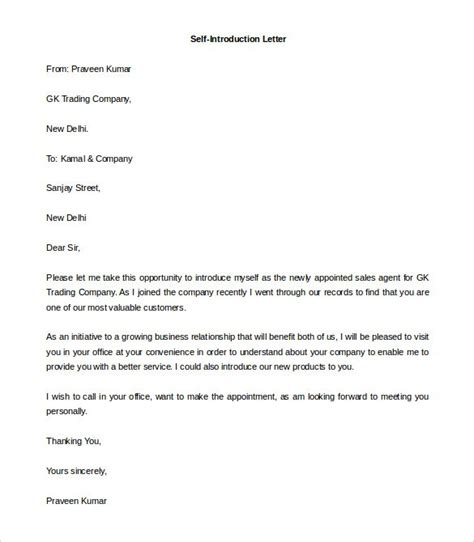 How To Write A Cover Letter Introduction by How To Write A Self Introduction Letter Colleagues Cover