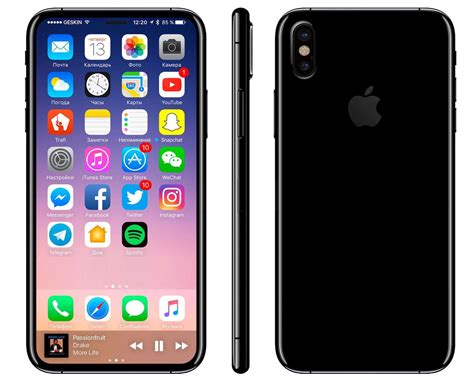 2017 iphone x iphone 8 8 plus and iphone x rumors new features spec released data price and